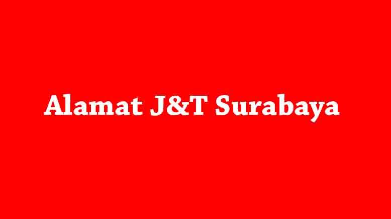 alamat j&T surabaya