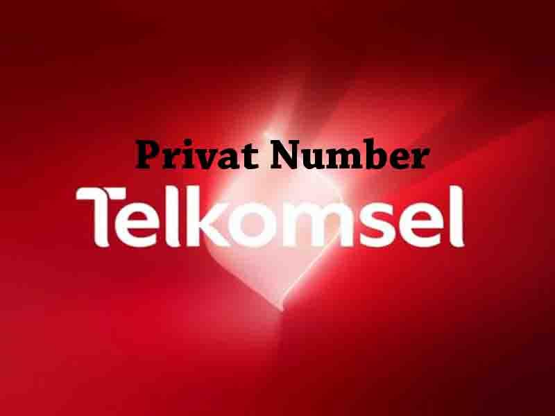 privat number telkomsel